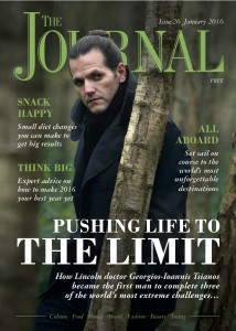 Journal Magazine, Lincoln, january 2016, Cover copy